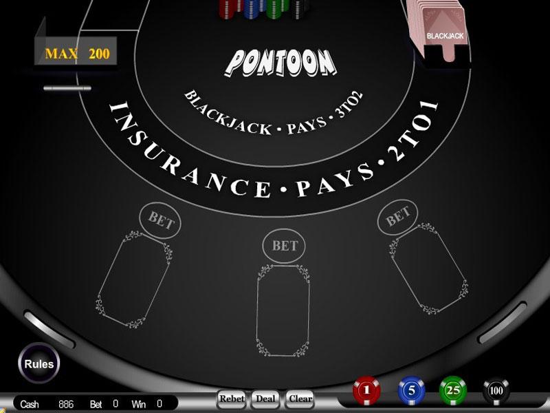 Pontoon Blackjack is a variant of online blackjack, played widely in the world.